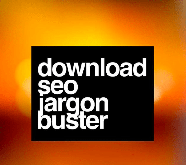 Download SEO Jargon buster